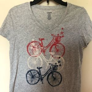 Tops - Bike Along Tee